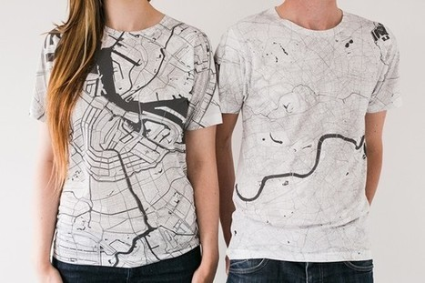 Wearable Maps of 80 Cities Around the Globe | Fantastic Maps | Scoop.it