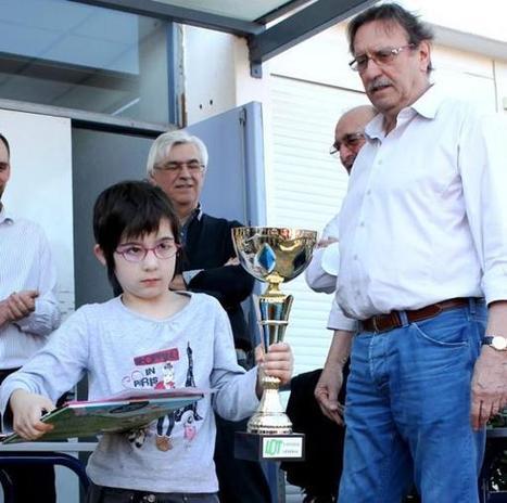 Saint-Antonin-Noble-Val. Ilana Delpech, petit génie du jeu d'échecs - LaDépêche.fr | Jeu d'échecs généralités | Scoop.it