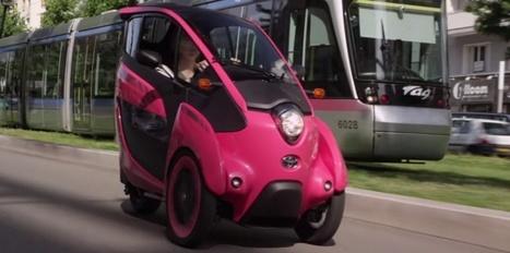 Voiture du futur : Grenoble expérimente l'auto pendulaire | Innovation automobile | Scoop.it