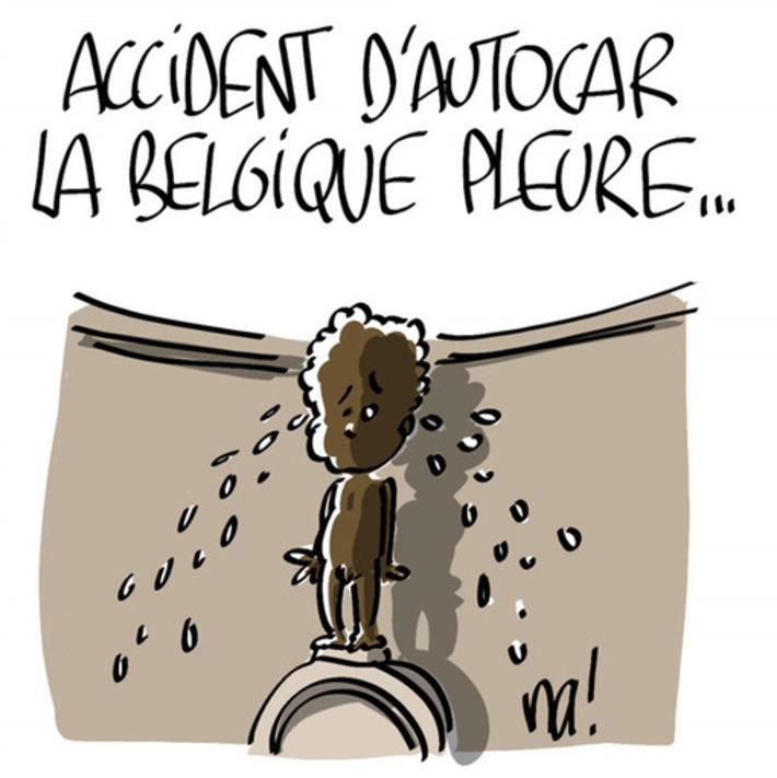 Accident d'autocar, la Belgique pleure… | Baie d'humour | Scoop.it