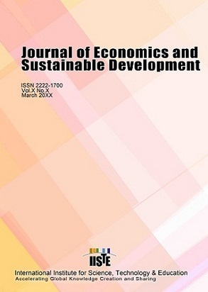 Journal of Economics and Sustainable Development | Sustainable Futures | Scoop.it