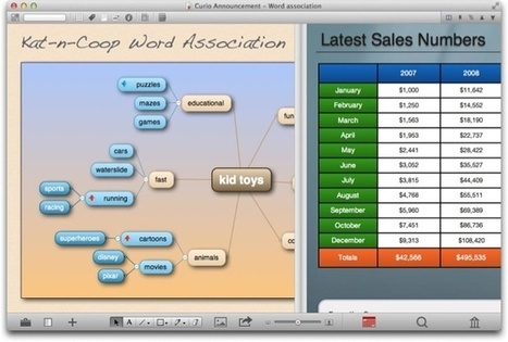 Le logiciel multifonction Curio passe en version 8 - MacGeneration | Mind Mapping | Cartes mentales, mind maps | Scoop.it