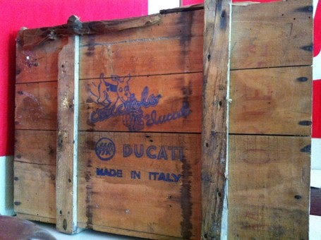PSADOC | When was the last time you've seen an original factory crate for a Cucciolo? | Ducati Community | Ductalk | Scoop.it