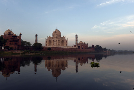 Yellowing Taj Mahal to go under scaffold for 'mud pack' | News in Conservation | Scoop.it