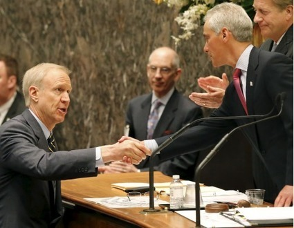 Standoff between Rauner, Dems threatens Legislature | Illinois Legislative Affairs | Scoop.it