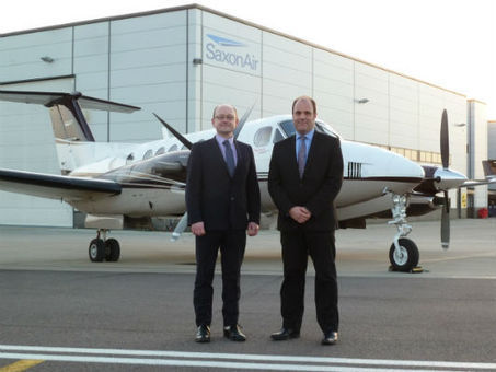 SaxonAir adds King Air 350 to charter fleet - Corporate Jet Investor | AIR CHARTER NEWS | Scoop.it