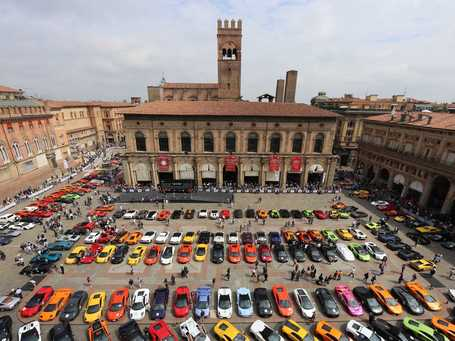 Unbelievable Photos From Lamborghini's Birthday Tour Of Italy | Everything from Social Media to F1 to Photography to Anything Interesting. | Scoop.it