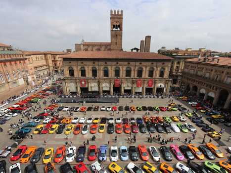Unbelievable Photos From Lamborghini's Birthday Tour Of Italy | Everything from Social Media to F1 to Photography to Anything Interesting | Scoop.it