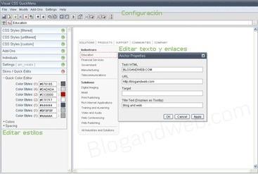 Quickmenu, Generador de menús desplegables   Blog and Web   PROGRAMAS Y PAGINAS PARA SOFTWARE   Scoop.it