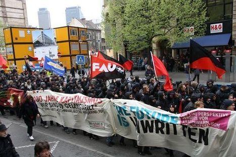 Saksa: tuhannet antikapitalistit marssivat Frankfurtin kaduilla | 15M Suomi | Scoop.it