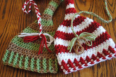 Christmas Elf Hat Crochet Patterns - CrochetHappy | crochet hat | Scoop.it