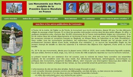 Les Monuments aux Morts sculptés de la  Première Guerre Mondiale en France | Nos Racines | Scoop.it