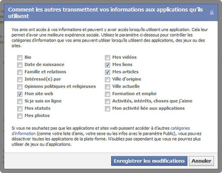 Sécuriser Facebook : le guide | SeCurité infos et web | Scoop.it