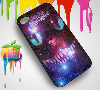 We're All Made Here Galaxy Cat Custom iPhone 4 or 4S Case   Customizable Clothing and Accessories   Scoop.it