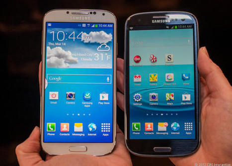 Comparing the Samsung Galaxy S4 and the Galaxy S3 | Mobile Technology | Scoop.it