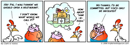 Scrum - The Home of the Chicken and Pig Story | Implementing Scrum | Agile SE | Scoop.it
