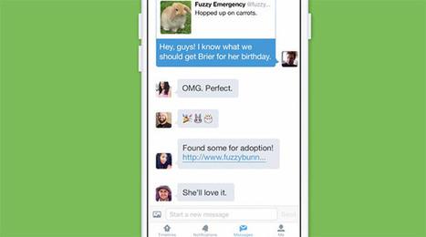 Twitter, da oggi messaggi diretti di gruppo e video da mobile | InTime - Social Media Magazine | Scoop.it