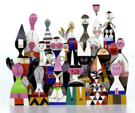 Atelier Decor: Wooden dolls -> Alexander Girard (1963)   Vintage bits & bobs...   Scoop.it