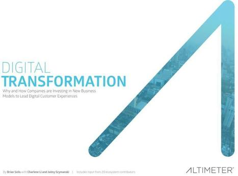Research: The Case for Digital Transformation and Why Organizations are Adapting for the Digital Customer Experience | Directorships | Scoop.it