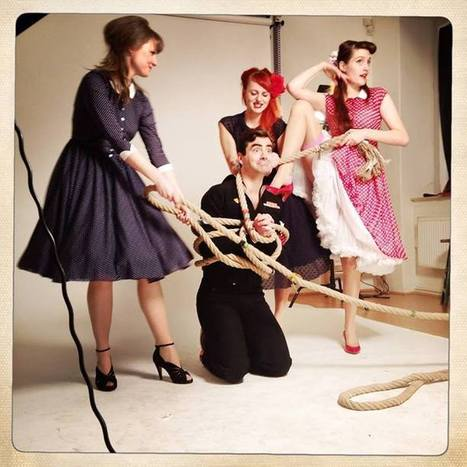Three Pin Ups and A Sailor From Lazy Eye Fashion Prague | Website Maintenance | Scoop.it