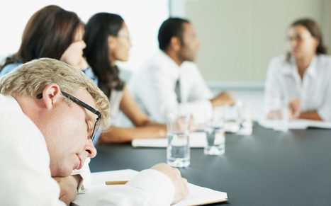 How to cope with boring workplace meetings (and actually get some value out of them) | marketing resource management | Scoop.it