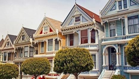 Les Painted Ladies de San Francisco   I love it !   Scoop.it