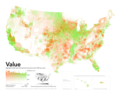 40 maps that explain food in America | Theme 4: People & Development | Scoop.it