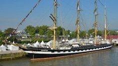 Le dernier bateau de l'Armada, le Kruzenshtern, quitte Rouen ce soir - France 3 Haute-Normandie | Armada de Rouen 2013 | Scoop.it
