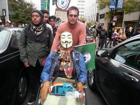 Twitter / OccupyWallStNYC: We are #anonymous. We are people ... | Anonymous' MillionMaskMarch | Scoop.it