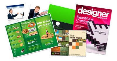 30 plantillas para brochures en PSD o trípticos, dípticos,carpetas ... | triptico | Scoop.it