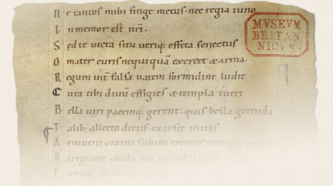 How to read an ancient manuscript: 11th century Vergil's Aeneid ... | LVDVS CHIRONIS 3.0 | Scoop.it