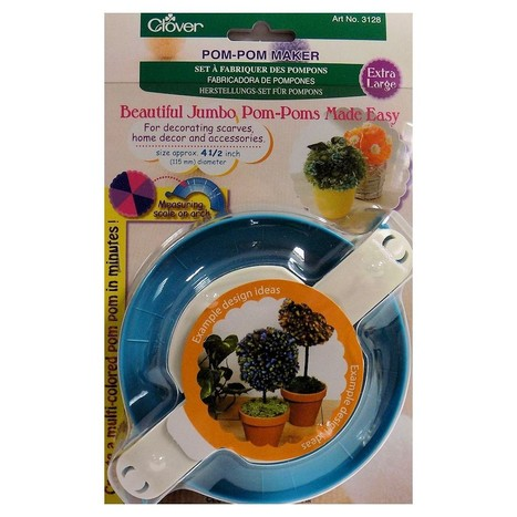 Clover Pom Pom Makers - Extra Large - For Knitting - Accessories   Online Shopping   Scoop.it