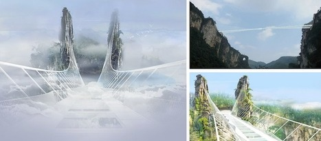 World's Longest and Highest Glass Bottom Bridge to Be Unveiled in Chinese National Park | Le It e Amo ✪ | Scoop.it