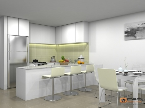 Dish out Interior Design on a platter with Architectural Interior 3D Rendering | CAD Resolution | Scoop.it