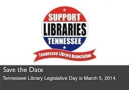 Tennessee Library Association Web Site | Tennessee Libraries | Scoop.it