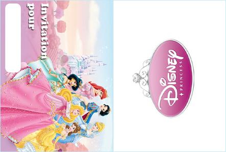 Invitation anniversaire princesses Disney - Princesses Disney - Anniversaire - KIDZEO ! | Préparez votre invitation d'anniversaire | Scoop.it