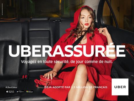 La 1ère campagne d'Uber France pour ses 4 ans | Publicite | Scoop.it