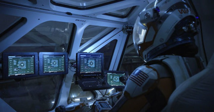 Territory Studio Takes UI to Mars in The Martian Movie | Machinimania | Scoop.it