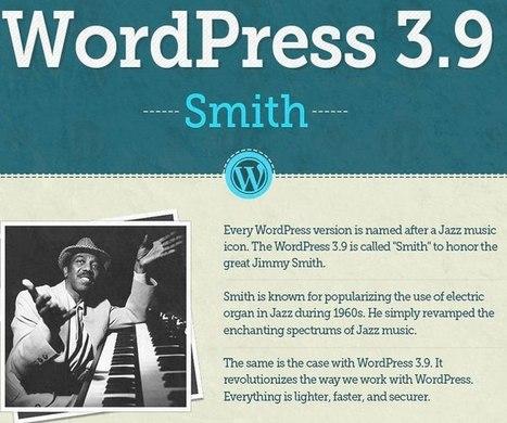 WordPress 3.9: 200 cambios en una sola infografía | Ayuda WordPress | Social media y community manager | Scoop.it