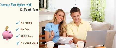 12 Month Loans UK | Quick and Easy 12 Month Payday Loans for You | 12 Month Loans | Scoop.it