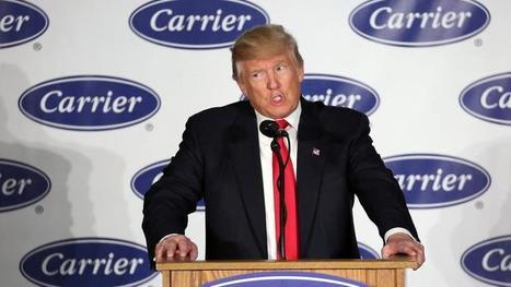 États-Unis: Donald Trump hérite d'un chômage au plus bas   Economie et finances   Scoop.it