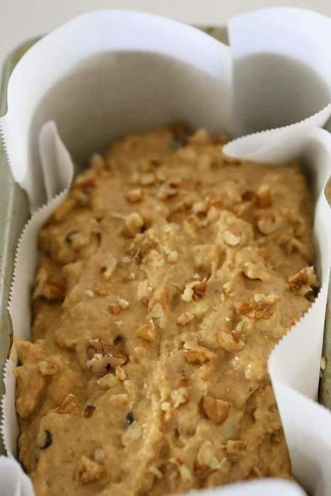 One Bowl Vegan Banana Apple Bread - Vegan Richa   Food for Foodies   Scoop.it