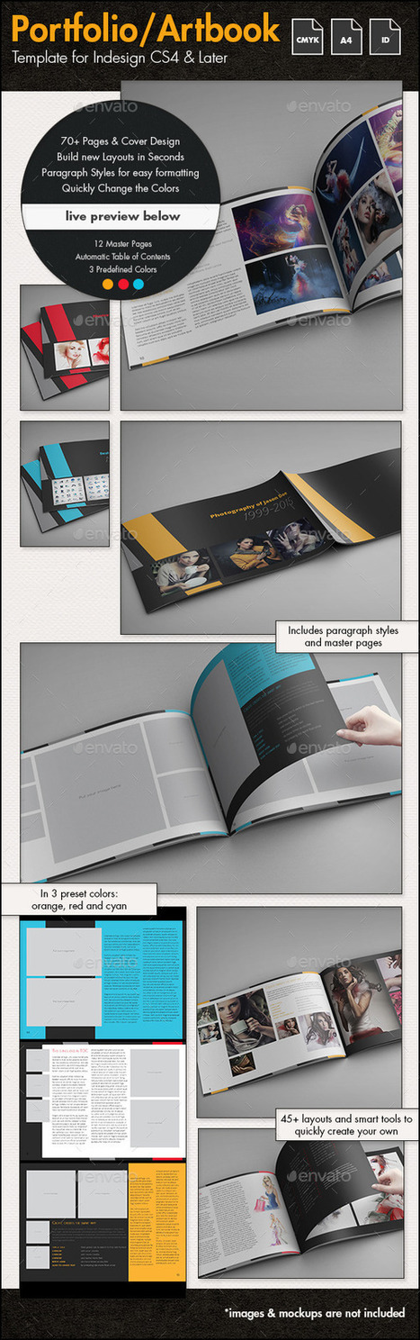 Photofolio & Artbook Template - A4 Landscape | About Photography | Scoop.it