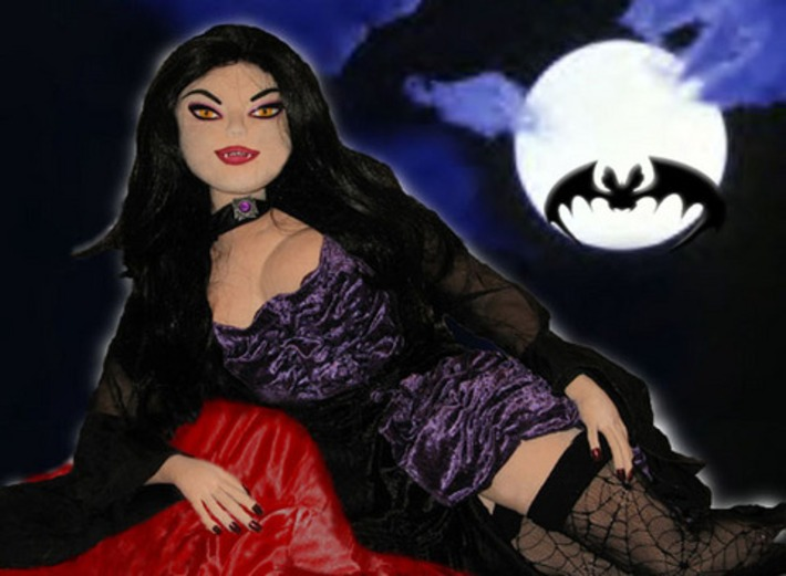 Sonya - Vampire Mistress Of The Night Plush Sex Doll | Sex Positive | Scoop.it