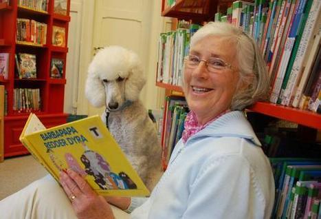 Hunden barna kan lese for - Nyheter - Grimstad Adressetidende | Skolebibliotek | Scoop.it