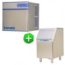 Bromic IM0140SM+SB100 Modular Solid Ice Cube Head 146kg/24hr Incl. Storage Bin Commercial Fridge and Freezer Sales Australia | Commercial Freezer | Scoop.it