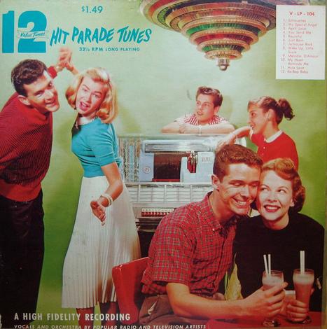 12 Hit Parade Tunes   Vintage, Robots, Photos, Pub, Années 50   Scoop.it