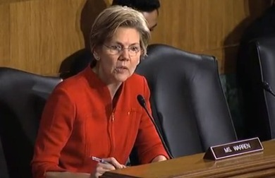 Elizabeth Warren Asks Regulators Why No Trials on Wall Street | Politicol News | Sustain Our Earth | Scoop.it