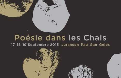 Poésie dans les chais 2015 | World Wine Web | Scoop.it