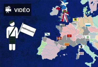 EN VIDÉO • Infographie animée : comprendre les indépendantistes européens | Union Européenne, une construction dans la tourmente | Scoop.it